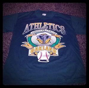 Oakland A's shirt